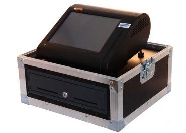 Minipos kassa flightcase rechts